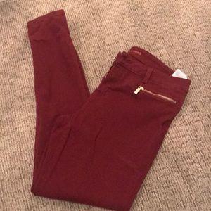Michael Kors Skinny Jeans Red